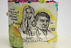 Detské doplnky - Picasso - stojan na ceruzy - 9827480_