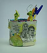 Detské doplnky - Picasso - stojan na ceruzy - 9827482_