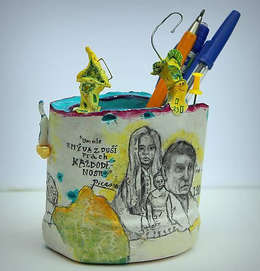 Picasso - stojan na ceruzy