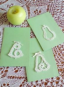 Papiernictvo - vianočná paličkovaná pohľadnica - 9828637_
