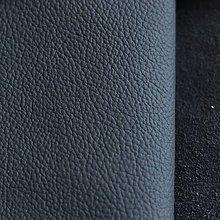 Suroviny - Exkluzívna koža - modrá - 9826605_