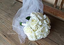 - svadobná kytica...biela neha... - 9827974_