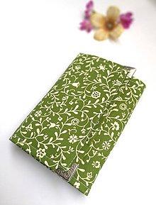 Peňaženky - Peňaženka- zelená - 9829542_