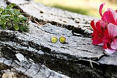 Náušnice - Slnko nad zelenou lúkou - 9831365_