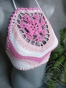 Topy - Rúžový top - 9830220_