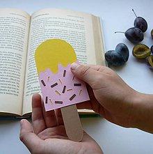 Papiernictvo - Nanuk do knižky... - 9830821_