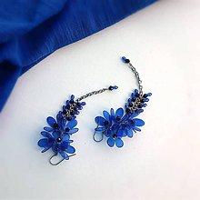 Náušnice - blue - 9830985_