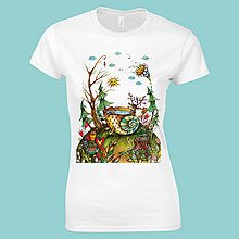 Tričká - Žúžo labúžo - tričko. - 9829957_