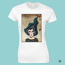 Tričká - Voda - tričko/strih A. - 9830339_