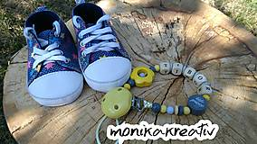 Detské doplnky - Retiazka na cumlík Tibor - 9831869_