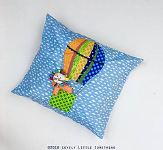 Textil - Balóny 2 - obliečka na vankúš 60x50 cm - 9832126_