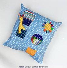 Textil - Balóny 3 - obliečka na vankúš 60x60 cm - 9832157_