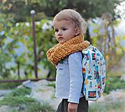 Detské tašky - Detský ruksak rakety  - 9831863_