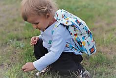 Detské tašky - Detský ruksak rakety  - 9831865_