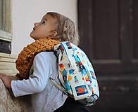 Detské tašky - Detský ruksak rakety  - 9831873_