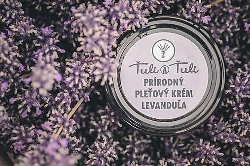 Prírodný pleťový krém Levanduľa 50 ml