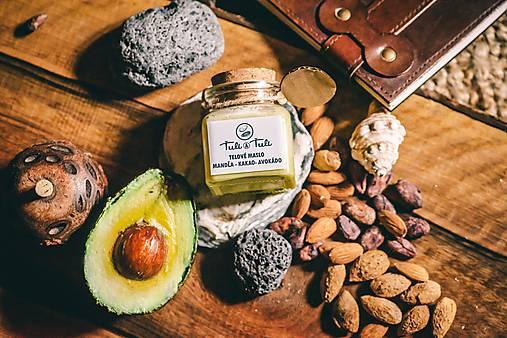 Drogéria - Prírodné telové maslo kakao - mandľa - avokádo - 9830312_