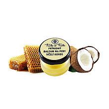 Drogéria - Prírodný balzam na pery Včelí kokos - 9830551_