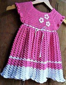 Detské oblečenie - Šatočky pre malé princezné Fine - 9832352_