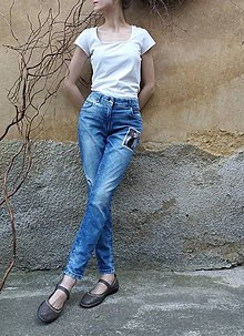 51a73a50359d Nohavice - RECY JEANS - 9830062