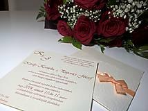 Papiernictvo - Svadobné oznámenie-Nelly - 9829894_