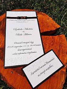 Papiernictvo - Svadobné oznámenie Nikolett - 9829505_