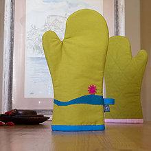 Úžitkový textil - Chňapka - Kvietok - 9831648_