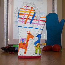 Úžitkový textil - Chňapka - Žirafka II. - 9831778_