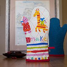 Úžitkový textil - Chňapka - Žirafka III. - 9831814_