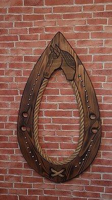 Dekorácie - Chomút s koníkom - 9829341_