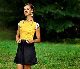Šaty - Šaty Augustína - skladom M - 9831190_