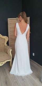 Šaty - Šaty strihu užšia morská panna rôzne farby - 9830574_