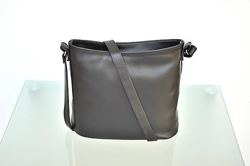 Kožená kabelka VIKI čierna   Emmka-shop - SAShE.sk - Handmade Kabelky 690326c6174