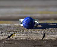 Lapis Lazuli oceľový prsteň