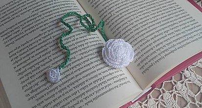 Drobnosti - Záložka do knihy- Kvet - 9830900_