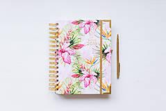 Knihy - Diár Lady BOSS 2019 Aloha  - 9829705_