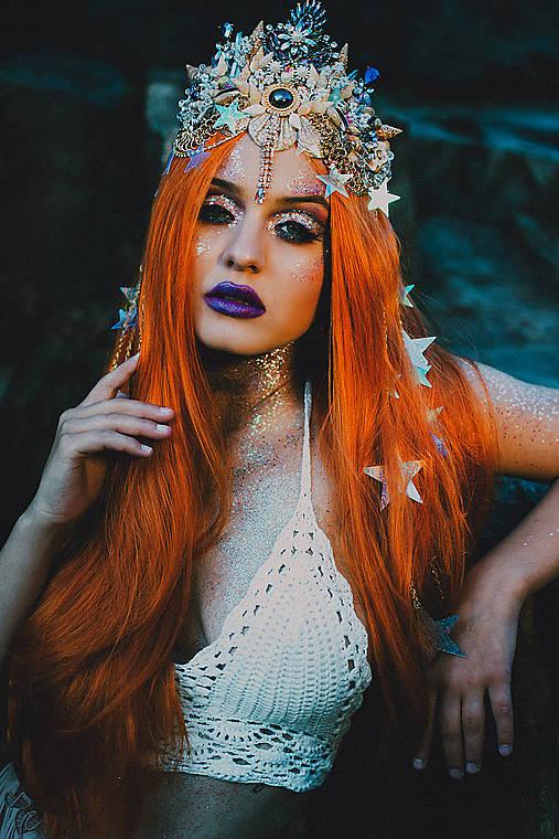 Mušličková koruna z kolekcie Mermaid dream