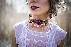 - Choker náhrdelník