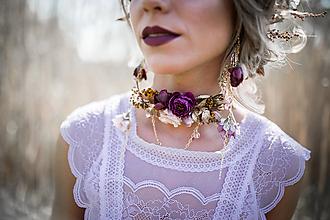 Náhrdelníky - Choker náhrdelník