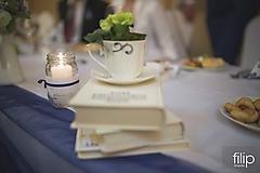 Dekorácie - Svadobná výzdoba - čaj o piatej - 9831492_