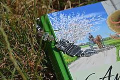 Knihy - Záložka do knihy-sova - 9830219_