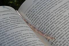 Knihy - Záložka do knihy-sova - 9830223_