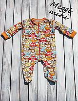Detské oblečenie - overaly na spanie - 9830546_