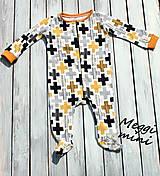 Detské oblečenie - overaly na spanie - 9830550_