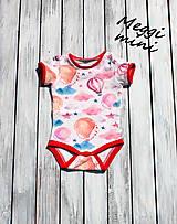 Detské oblečenie - body - 9830563_