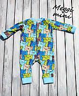 Detské oblečenie - overaly na spanie - 9830588_