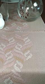 Úžitkový textil - Arizonské cesty - vyšívaný obrus - 9830547_