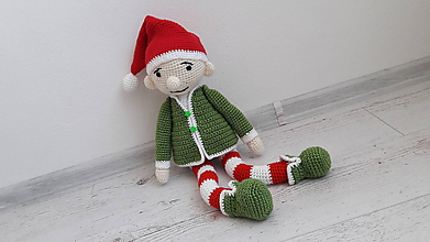 Hračky - červeno-vianočnýýýý - 9831678_
