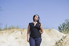 Topy - Čierne tričko - 9834225_
