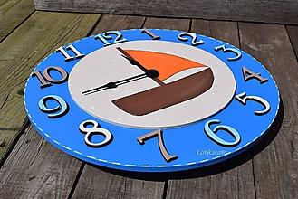 Hodiny - nástenné hodiny - 9834882_